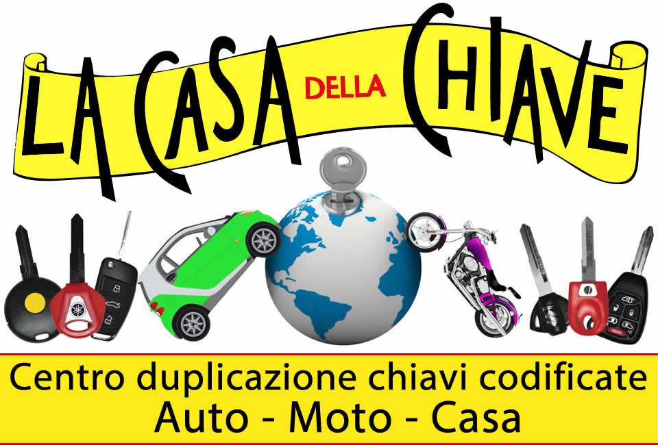 Doppione chiave con telecomando con codifica Peugeot a Milano